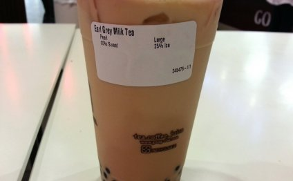 Earl Grey Milk Tea with
