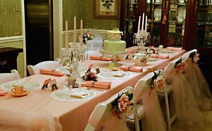 Pink Princess Tea Party Foods