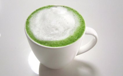 Homemade Green Tea Latte