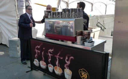 Coffee from coffee stands