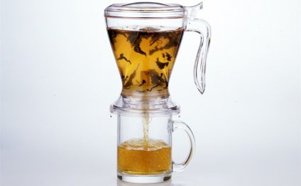 Loose leaf tea brewer