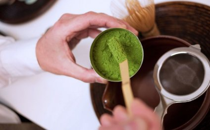 How to make green tea powder?