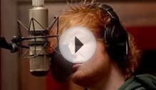 "Ed Sheeran - ""The A Team"" captured in The Live Room"