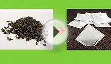 Herbal Tea Bags, Slimming Tea, Green Tea, Oolong Tea, Pu