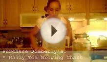 How to Brew Wild Blueberry Iced Tea: Cooking with Kimberly