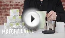 How to Make a Matcha Green Tea Latte - DAVIDsTEA